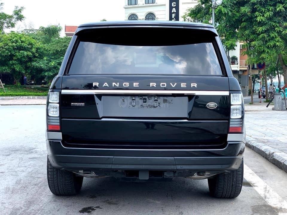 Bán LandRover Range Rover Autobiography LWB 5.0 sản xuất năm 2014, màu đen, nhập khẩu nguyên chiếc (4)