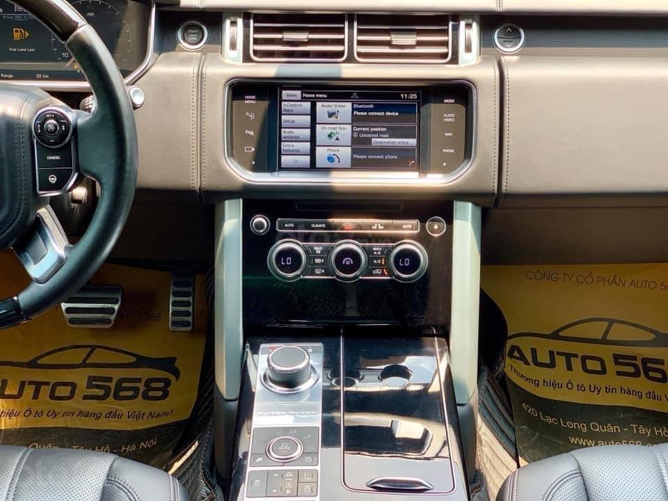 Bán LandRover Range Rover Autobiography LWB 5.0 sản xuất năm 2014, màu đen, nhập khẩu nguyên chiếc (7)