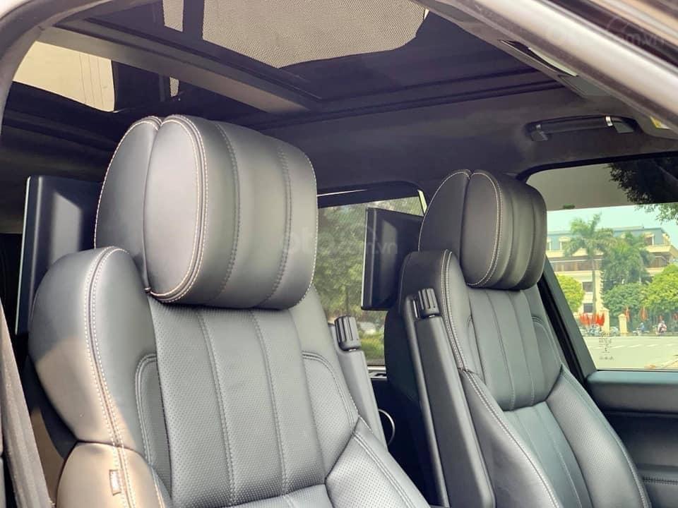 Bán LandRover Range Rover Autobiography LWB 5.0 sản xuất năm 2014, màu đen, nhập khẩu nguyên chiếc (9)