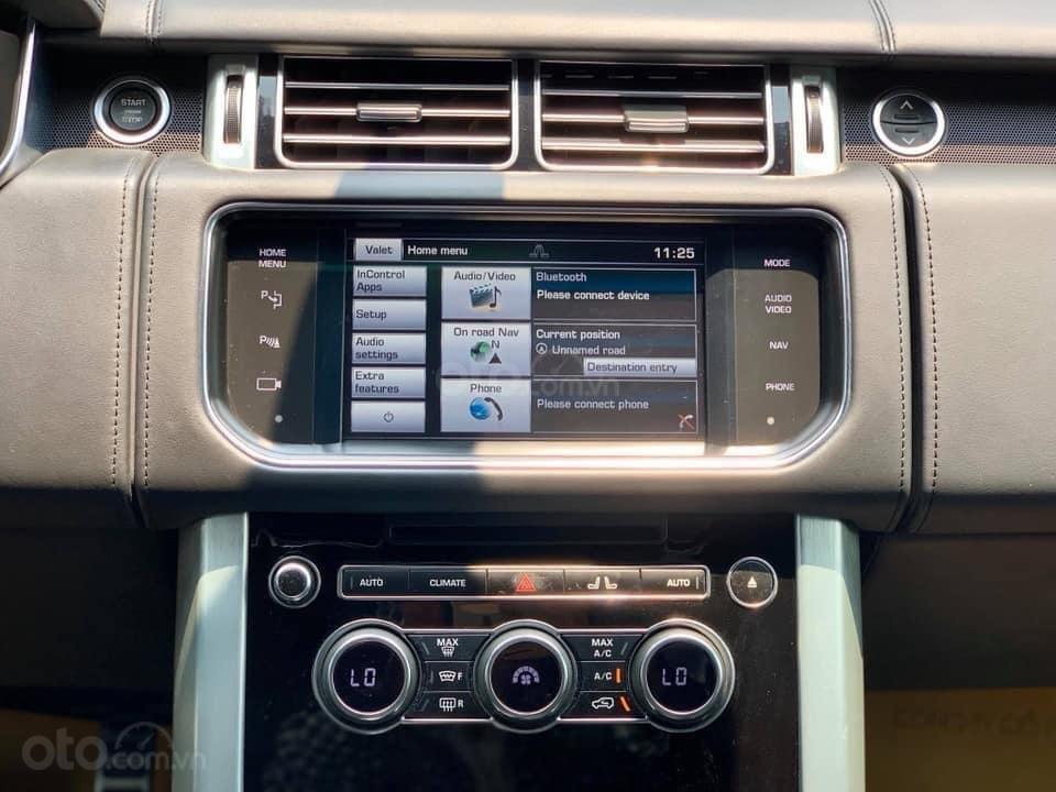 Bán LandRover Range Rover Autobiography LWB 5.0 sản xuất năm 2014, màu đen, nhập khẩu nguyên chiếc (11)