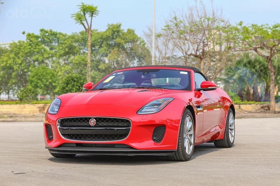 Cần bán xe Jaguar F Type Convertible sản xuất năm 2018, màu đỏ, nhập khẩu (1)
