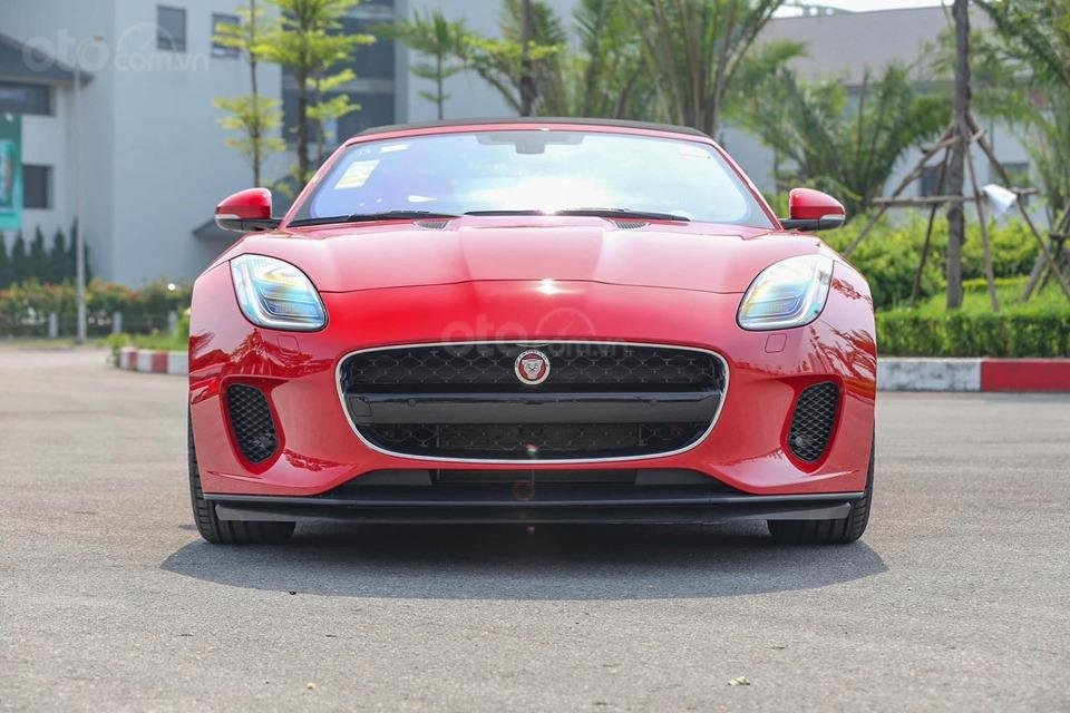 Cần bán xe Jaguar F Type Convertible sản xuất năm 2018, màu đỏ, nhập khẩu (7)