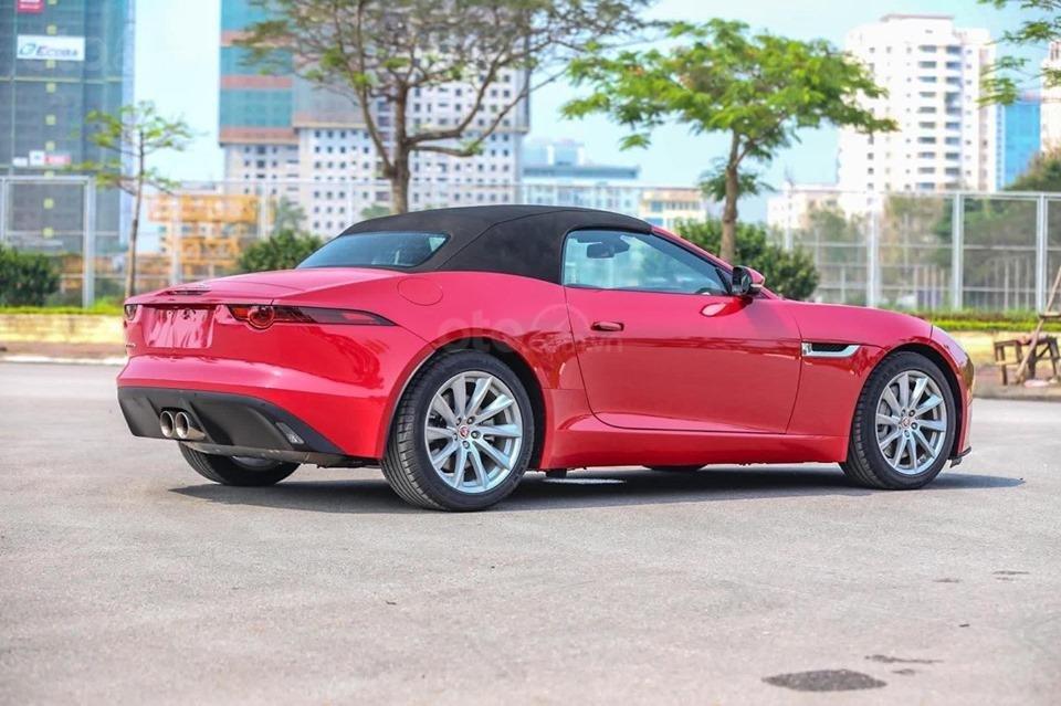 Cần bán xe Jaguar F Type Convertible sản xuất năm 2018, màu đỏ, nhập khẩu (5)