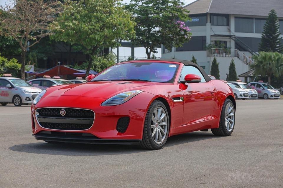 Cần bán xe Jaguar F Type Convertible sản xuất năm 2018, màu đỏ, nhập khẩu (12)