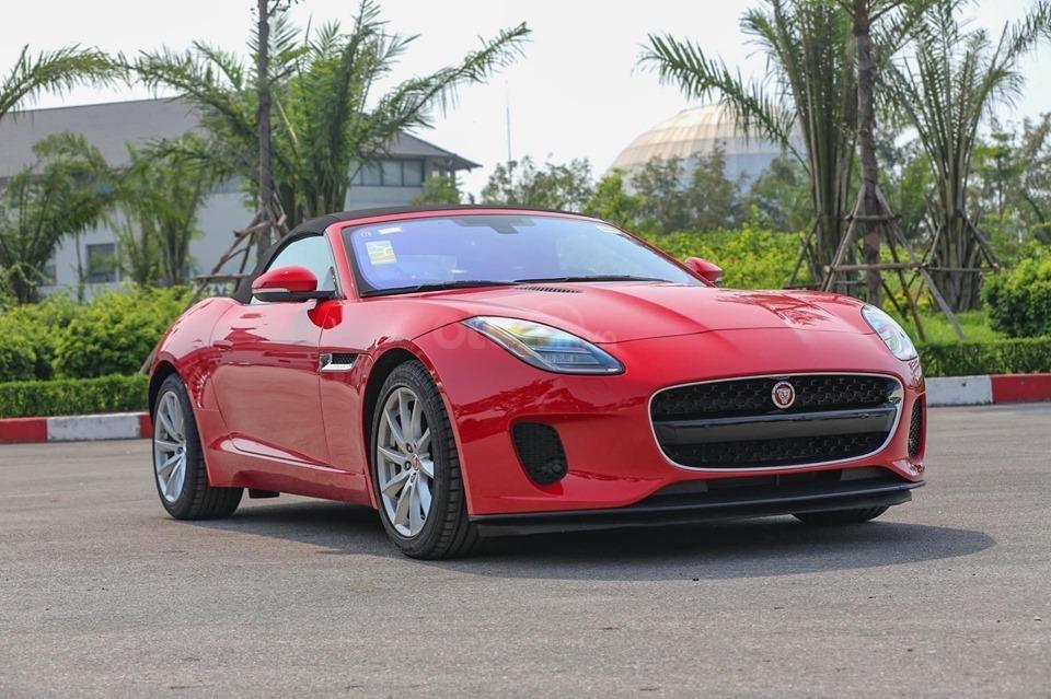 Cần bán xe Jaguar F Type Convertible sản xuất năm 2018, màu đỏ, nhập khẩu (11)
