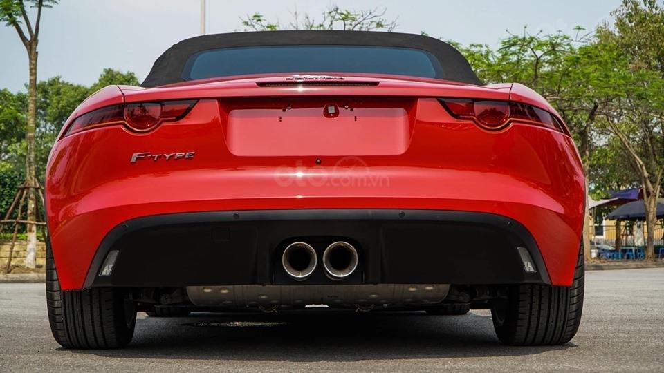 Cần bán xe Jaguar F Type Convertible sản xuất năm 2018, màu đỏ, nhập khẩu (10)
