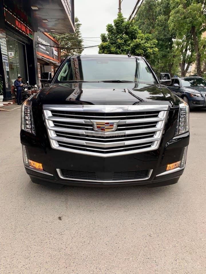 Bán xe Cadillac Escalade ESV Platinum đời 2019, màu đen, xe nhập (1)