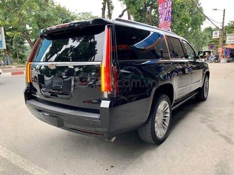 Bán xe Cadillac Escalade ESV Platinum đời 2019, màu đen, xe nhập (3)
