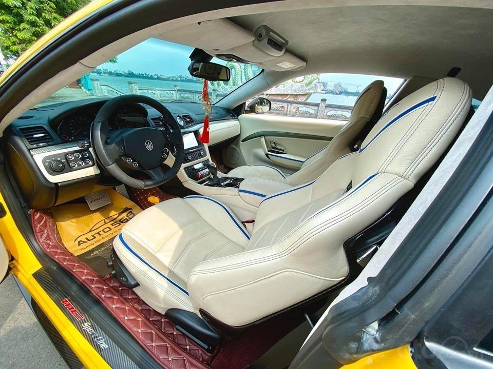 Bán ô tô Maserati Granturismo MC stradale sản xuất 2017, màu vàng, nhập khẩu (4)