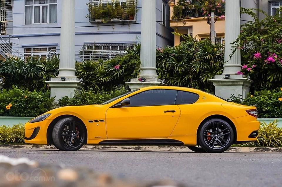 Bán ô tô Maserati Granturismo MC stradale sản xuất 2017, màu vàng, nhập khẩu (6)