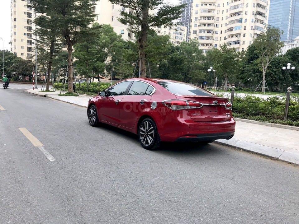 Cần bán gấp Kia Cerato đăng ký 2016, màu đỏ còn mới giá 535 triệu đồng (2)