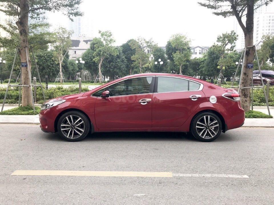 Cần bán gấp Kia Cerato đăng ký 2016, màu đỏ còn mới giá 535 triệu đồng (5)