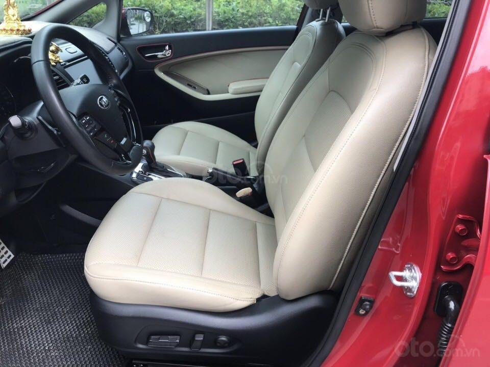 Cần bán gấp Kia Cerato đăng ký 2016, màu đỏ còn mới giá 535 triệu đồng (8)
