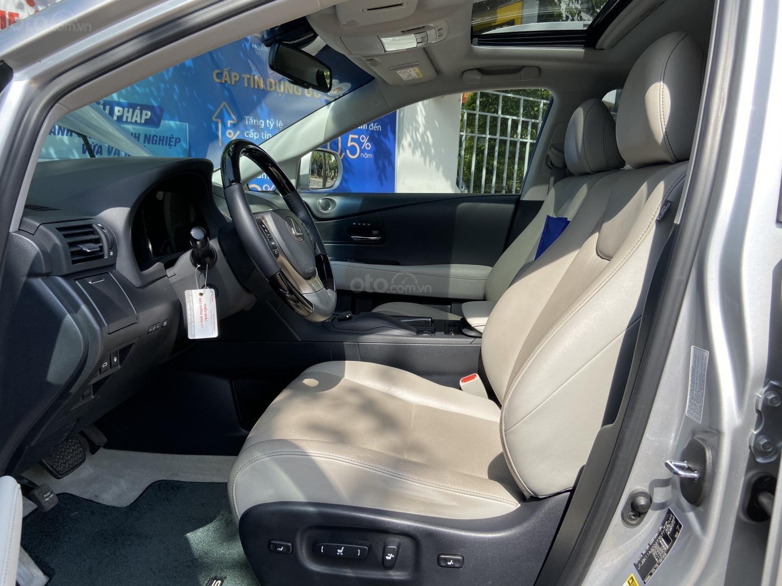 Bán ô tô Lexus RX 350 sản xuất 2014, màu bạc, nhập khẩu nguyên chiếc (5)