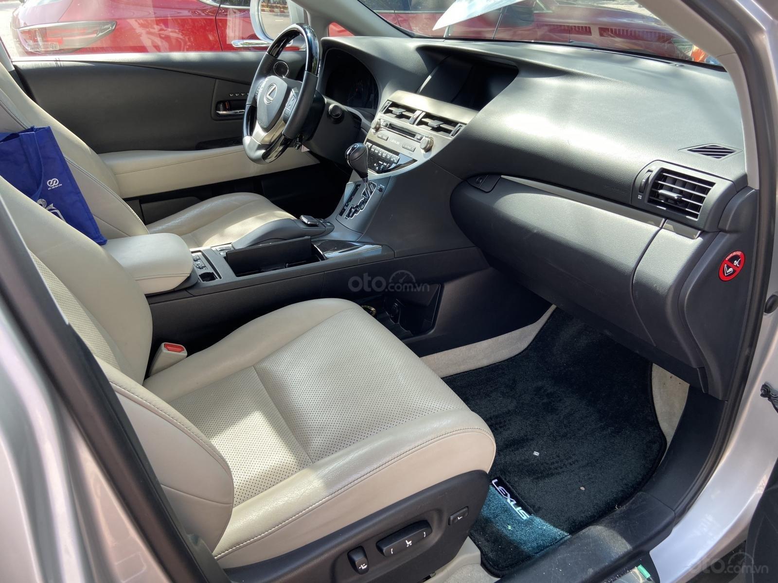 Bán ô tô Lexus RX 350 sản xuất 2014, màu bạc, nhập khẩu nguyên chiếc (7)
