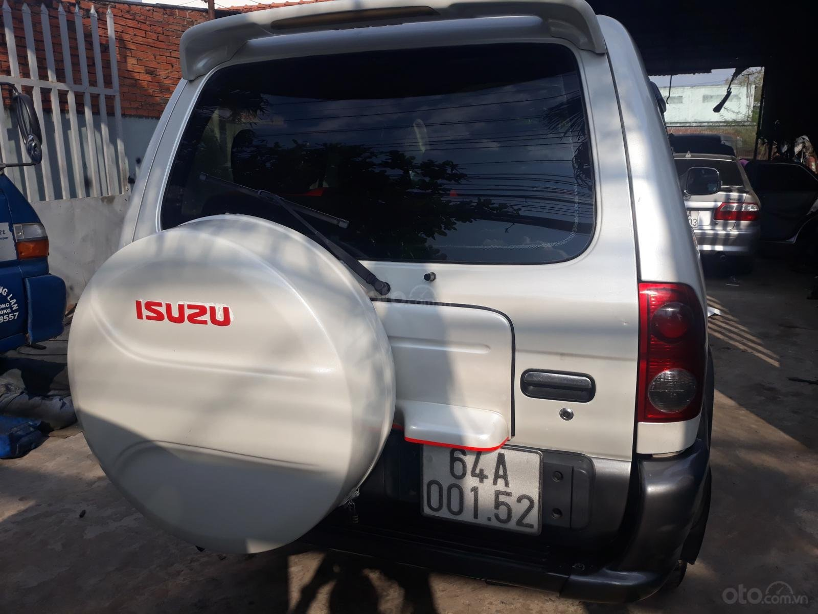 Cần bán xe Isuzu Hi lander đời 2007, màu trắng giá chỉ 250 triệu đồng (7)