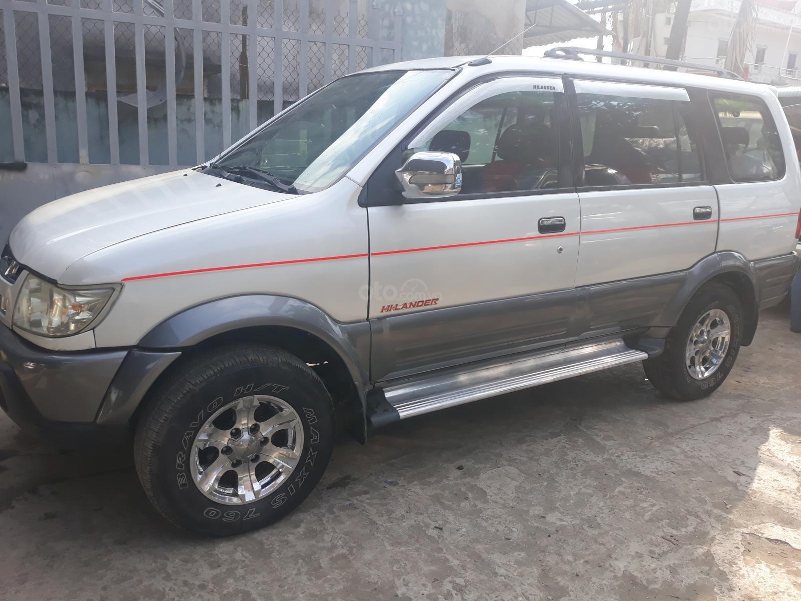 Cần bán xe Isuzu Hi lander đời 2007, màu trắng giá chỉ 250 triệu đồng (8)