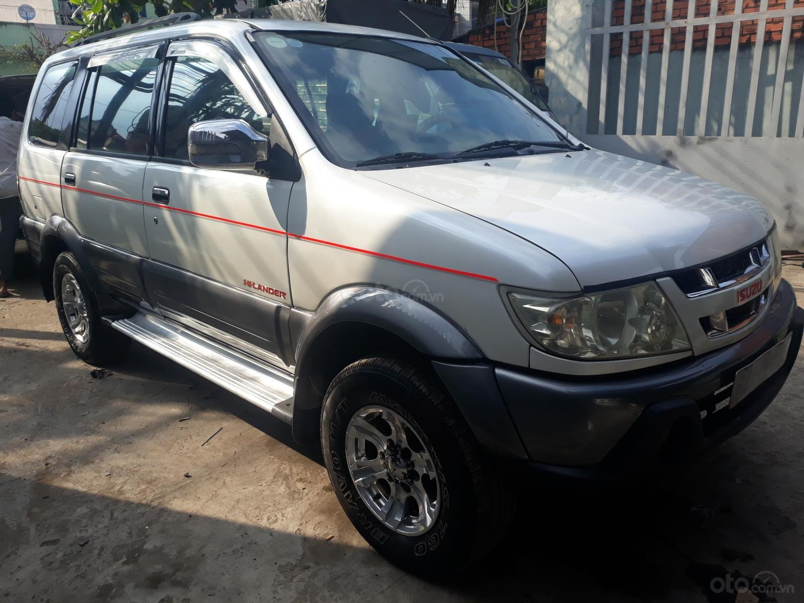 Cần bán xe Isuzu Hi lander đời 2007, màu trắng giá chỉ 250 triệu đồng (9)