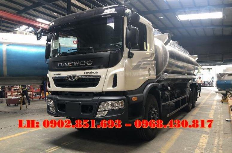 Bán xe bồn nhôm Daewoo 21 khối chở xăng dầu có sẵn giao ngay (1)