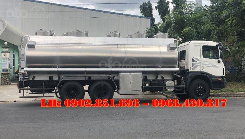 Bán xe bồn nhôm Daewoo 21 khối chở xăng dầu có sẵn giao ngay (2)