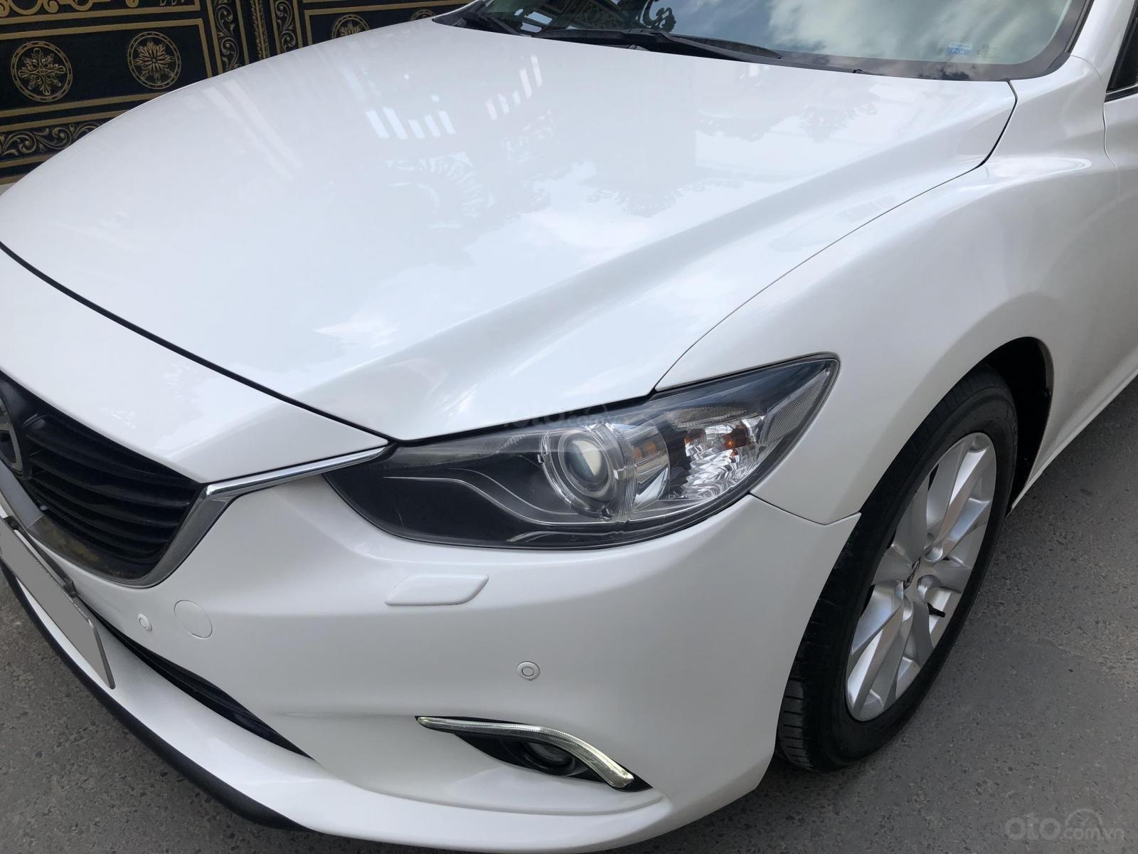 Mình cần bán Mazda 6 bản full trắng tinh 2017, đi kỹ như mới (9)