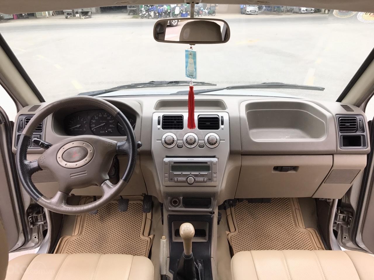 Cần bán xe Mitsubishi Jolie SS đời 2005, màu xám (ghi), cam kết máy nguyên mới (5)