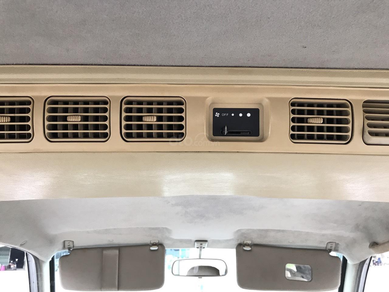 Cần bán xe Mitsubishi Jolie SS đời 2005, màu xám (ghi), cam kết máy nguyên mới (19)