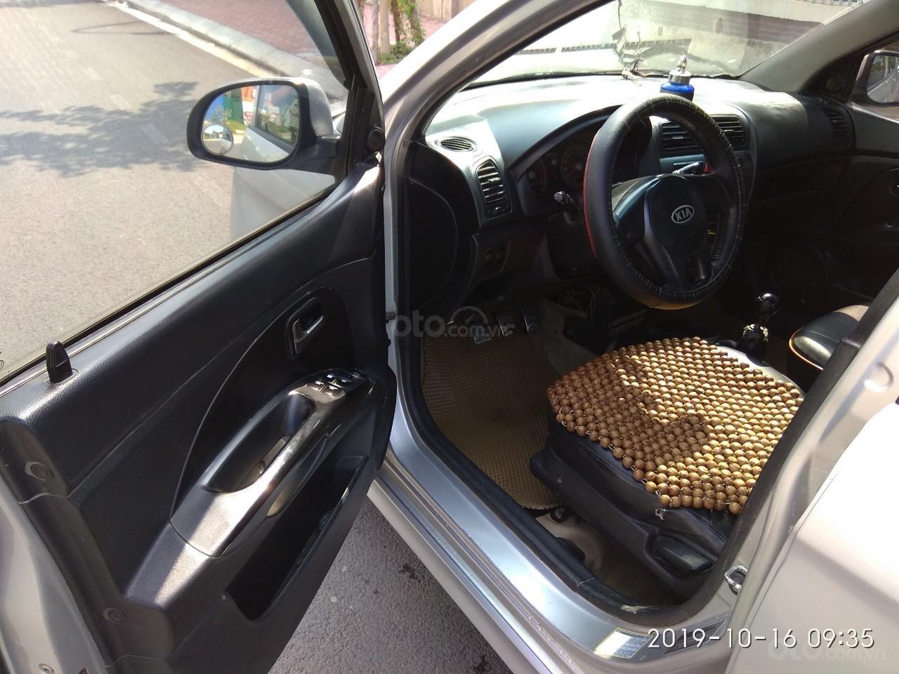 Cần bán Kia Morning sản xuất 2011, màu bạc, giá 168tr (2)
