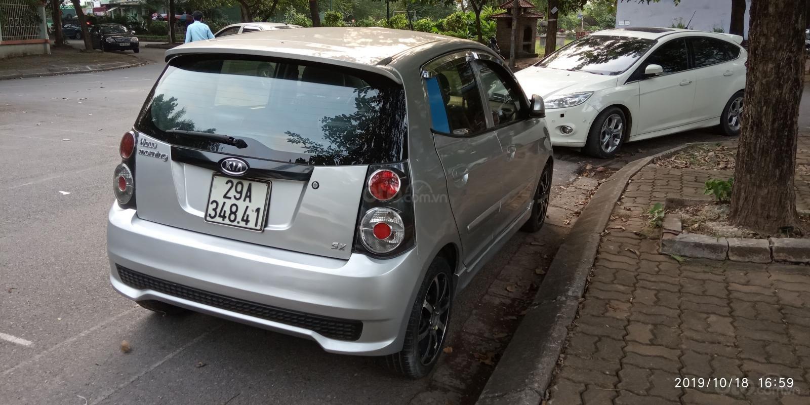 Cần bán Kia Morning sản xuất 2011, màu bạc, giá 168tr (6)