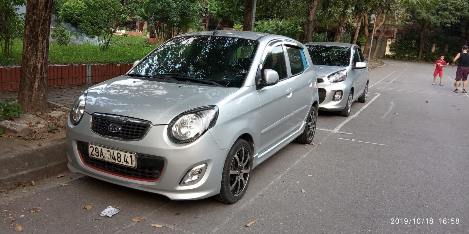 Cần bán Kia Morning sản xuất 2011, màu bạc, giá 168tr (7)