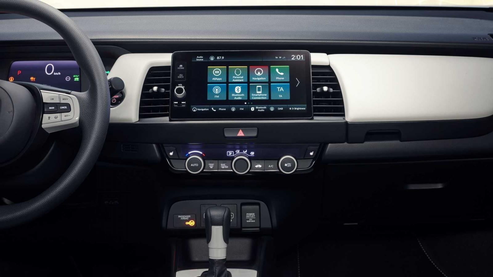 Honda Jazz 2020: bảng điều khiển