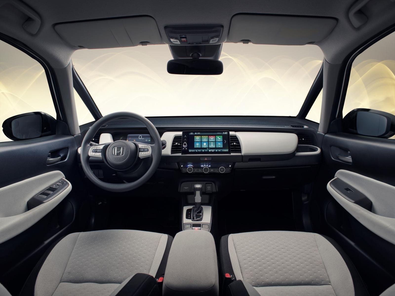 Honda Jazz 2020: chính diện bảng táp-lô