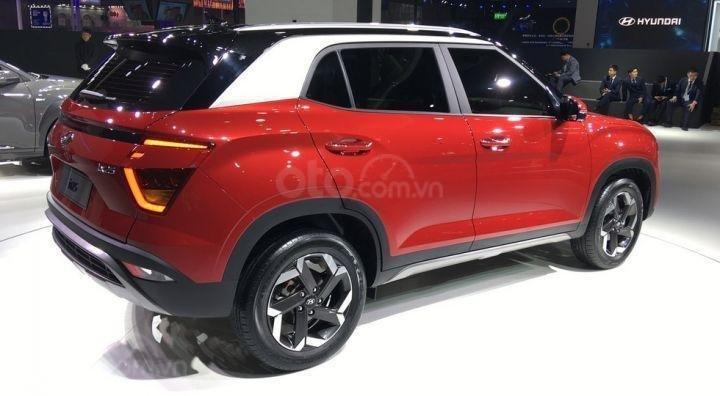 Hyundai Creta 2020 thay đổi nhẹ về kích cỡ
