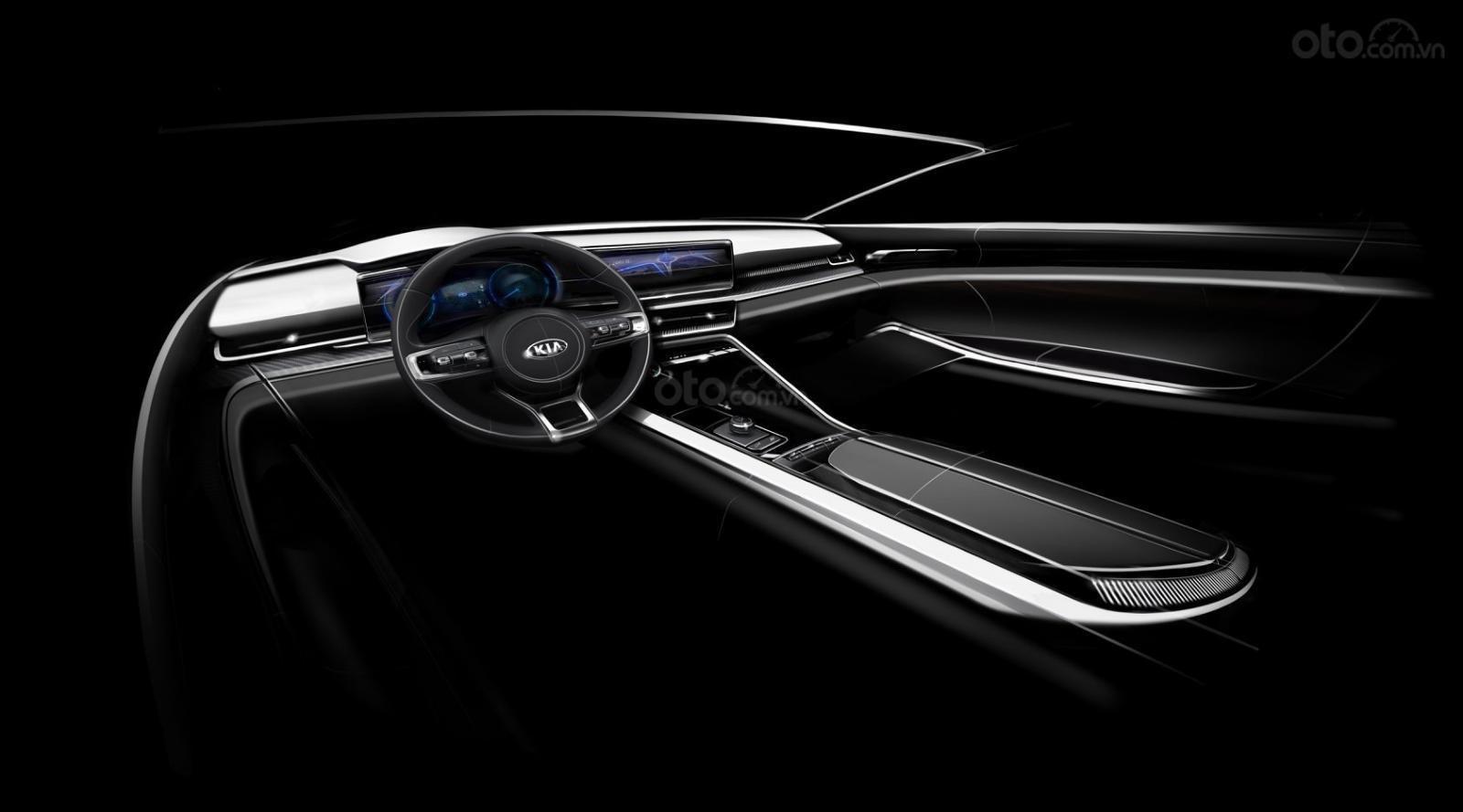 Kia Optima 2021 / K5 2021 sẽ tích hợp các công nghệ lái tiên tiến