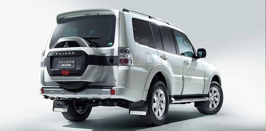 Mitsubishi Pajero Final Edition đặc trưng hơn mẫu cơ sở