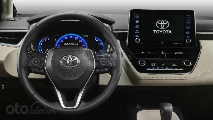 Toyota Corolla 2020 sedan tích hợp đầy đủ công nghệ hiện đại