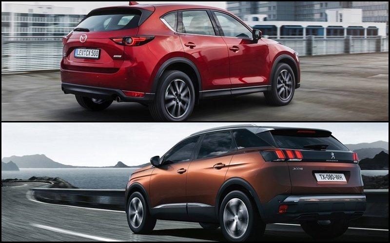 So sánh Peugeot 3008 với Mazda CX-5