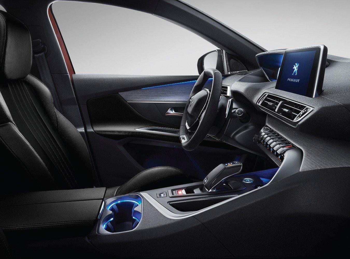 Tiện nghi trên xe hơi Peugeot 3008 2019