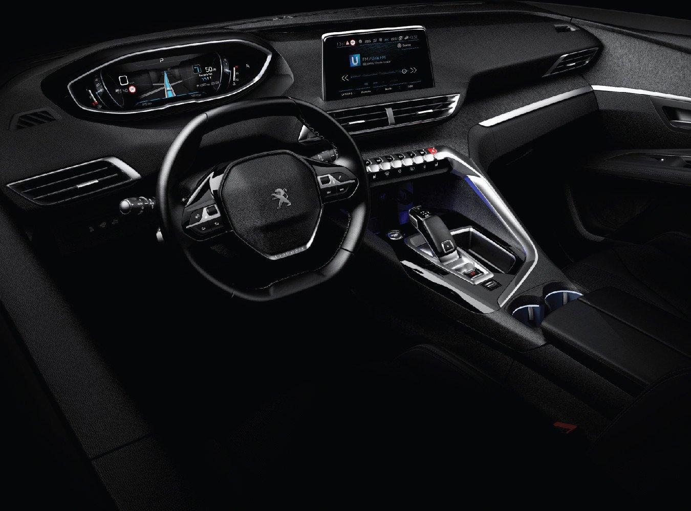 Nội thất trên xe Peugeot 3008