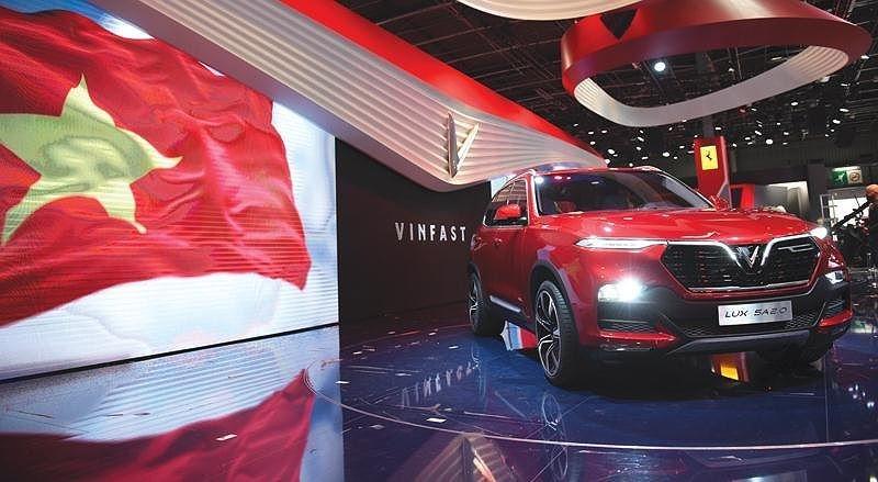 VinFast chọn Paris Motor Show 2018