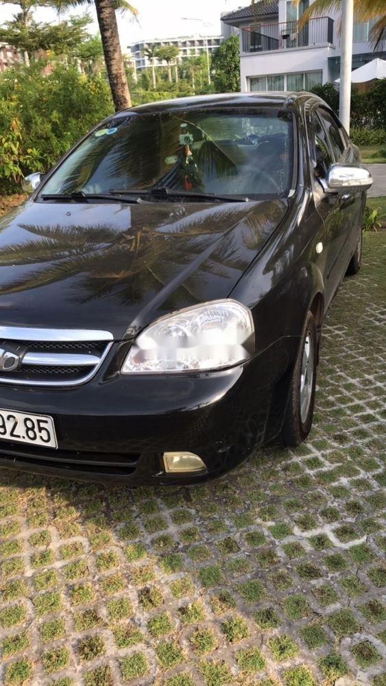Cần bán xe cũ Daewoo Lacetti 2009, màu đen, nhập khẩu, 200tr (5)