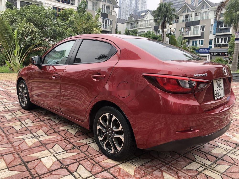 Bán ô tô Mazda 2 AT đời 2015, màu đỏ (3)