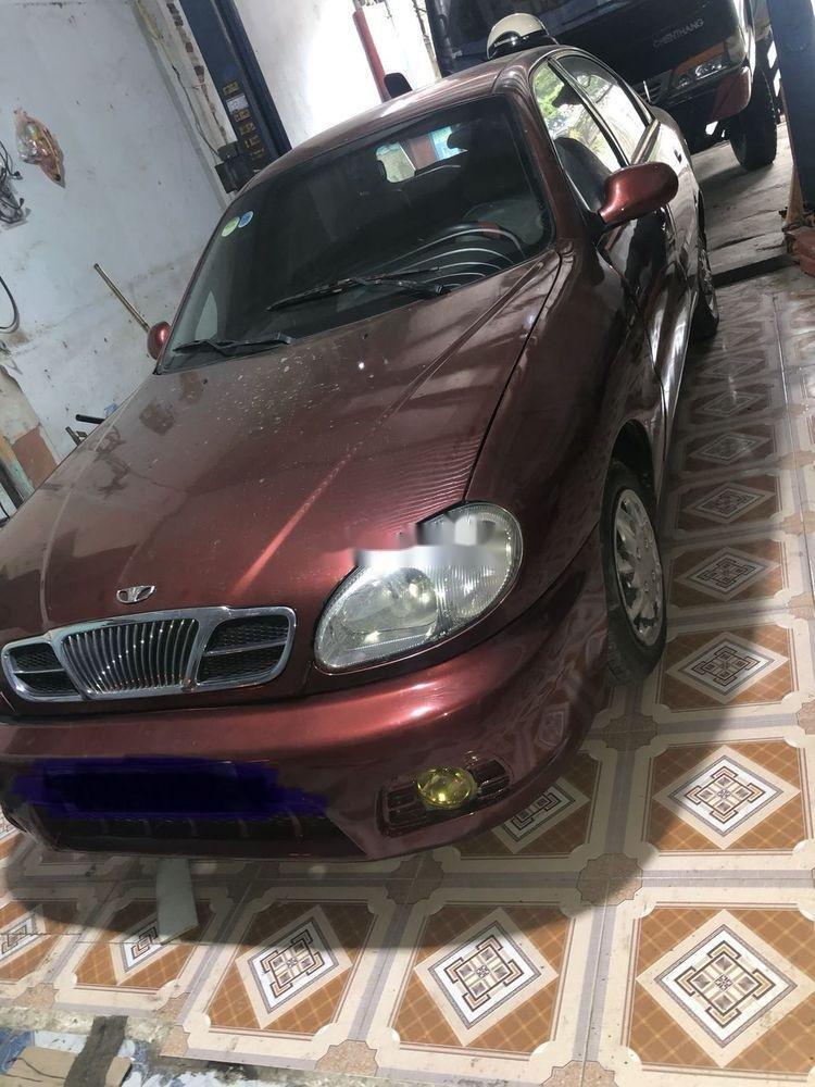 Cần bán xe Daewoo Lanos đời 2001, màu đỏ, nhập khẩu nguyên chiếc (1)