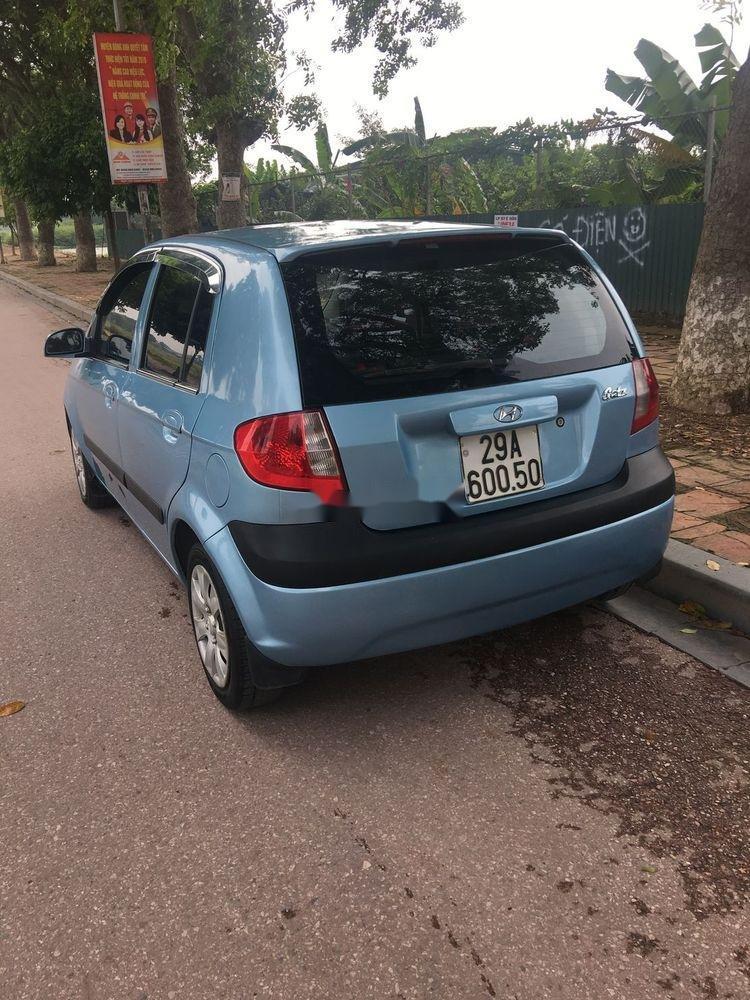 Chính chủ cần bán gấp Hyundai Getz 2008, màu xanh lam (3)