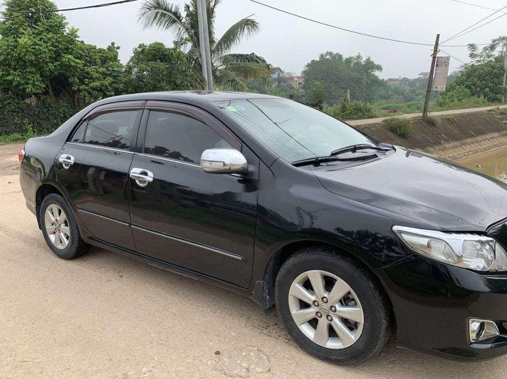 Cần bán Toyota Corolla Altis sản xuất 2008, màu đen, giá chỉ 348 triệu (4)
