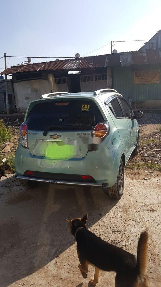 Bán Chevrolet Spark sản xuất năm 2011, màu xanh lam, chính chủ  (2)