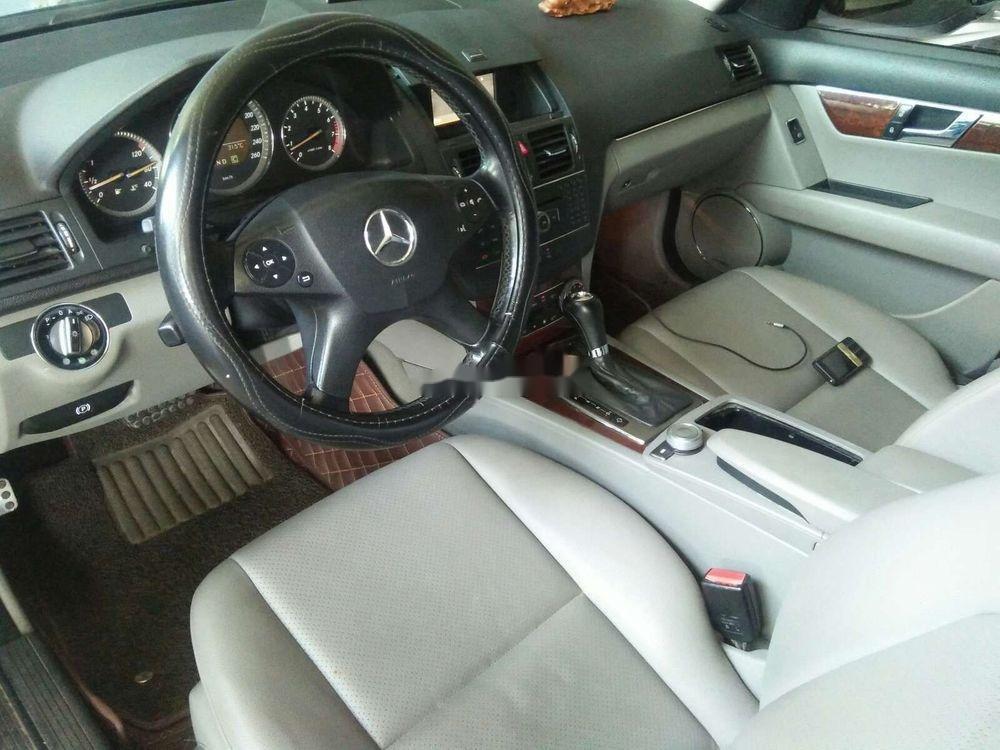 Bán Mercedes C200 2008, màu đen, xe gia đình, 390tr (4)