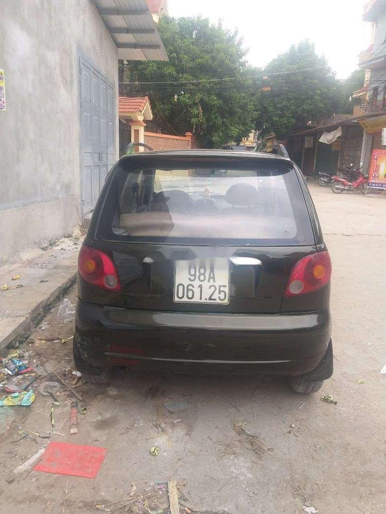 Bán Daewoo Matiz đời 2005, màu đen, giá tốt (1)