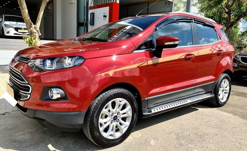 Cần bán xe cũ Ford EcoSport năm 2017, màu đỏ, xe nhập (7)