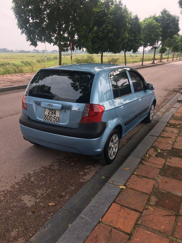 Chính chủ cần bán gấp Hyundai Getz 2008, màu xanh lam (2)